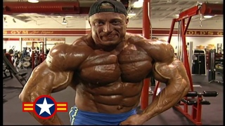 Markus Ruhl   Chest & Shoulders Workout For 1999 Mr Olympia   YouTube 720p