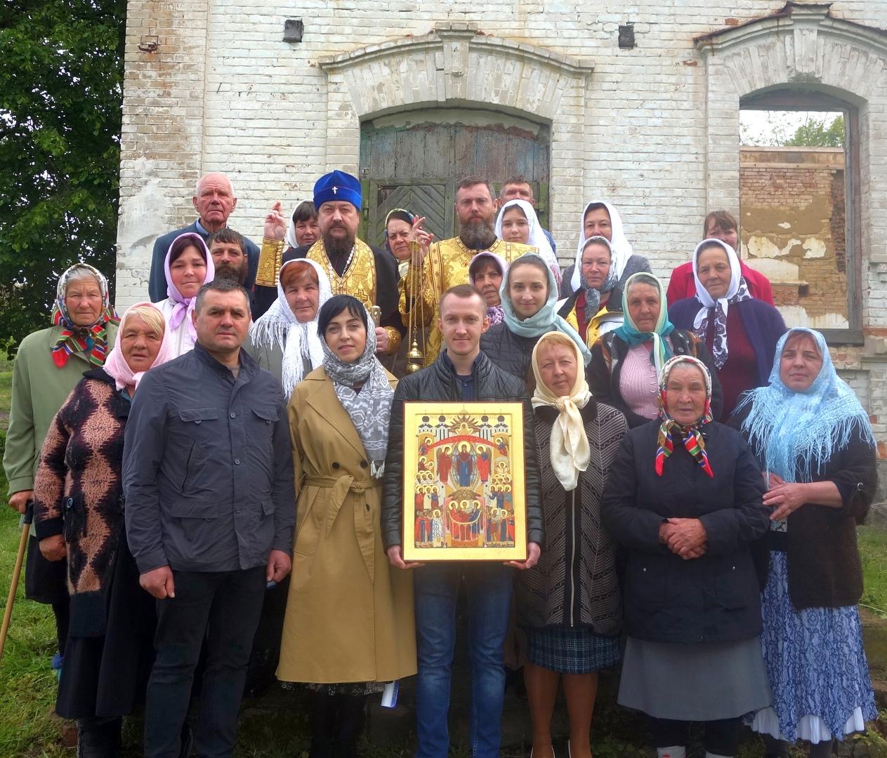Праздник Вознесения Господня в с.Людавка