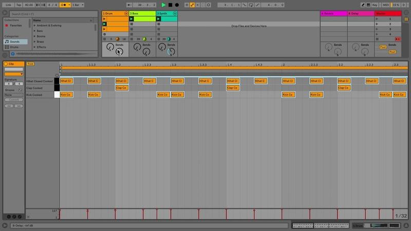 Learn Live 10 Quantizing MIDI