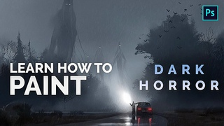 Learn To Paint Horror Art! Halloween Special