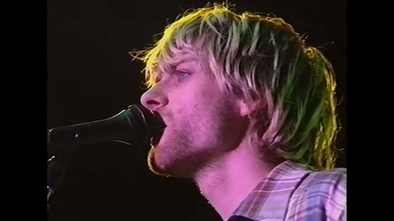 Nirvana live concert October 30th 1992 Estadio José Amalfitani Buenos Aires Argentina