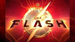 The Flash (2022) Movie Official Logo Reveal HD    Erza Miller Flash Movie Logo Teaser