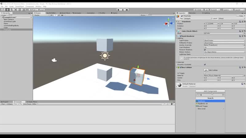 Fixed, Spring, Hinge, Character Configurable Joint explained - Unity Tutorial