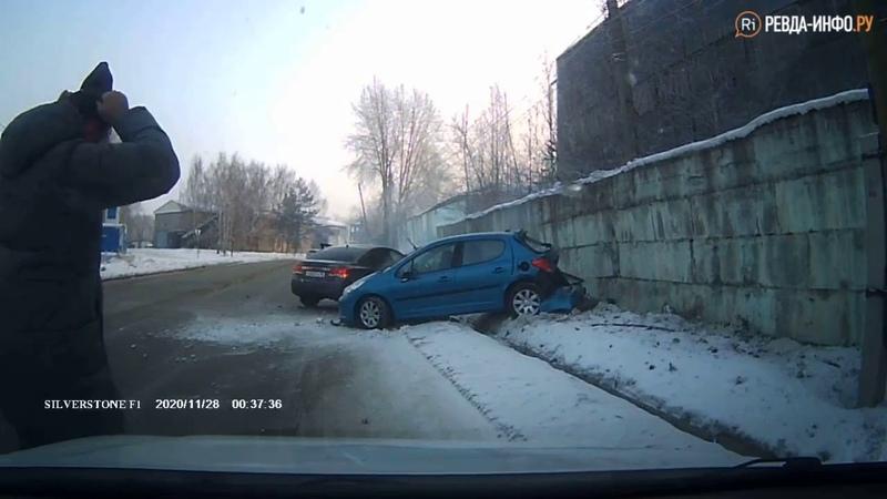 Дорожное видео авария на Достоевского в Ревде ри тв