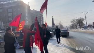 Воля Советского Человека и Автопробег в честь Советской Красной Армии 23 февраля 2021