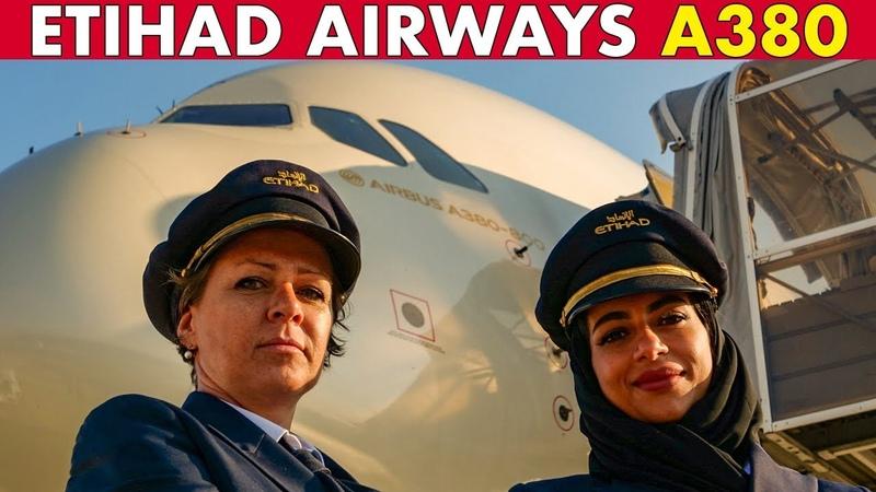 ETIHAD AIRWAYS Airbus A380 Pilots SOPHIE SHAIMA