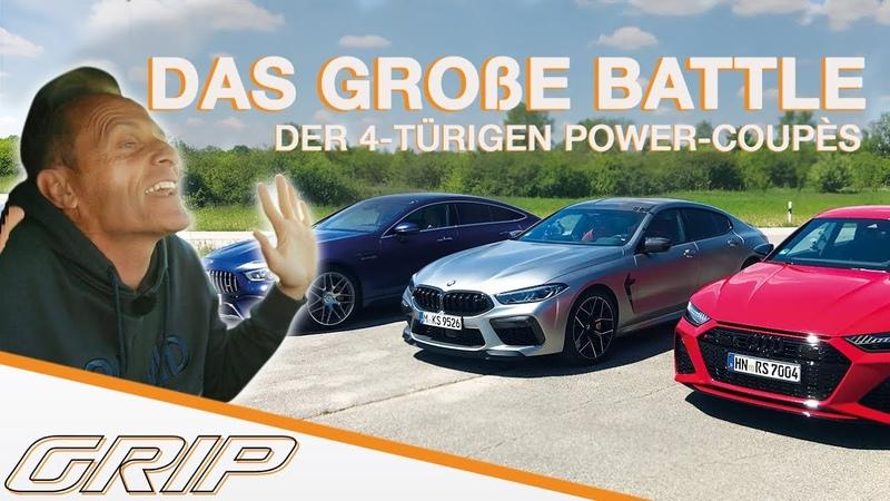 Das große 4 türigen Power Coupés mit Matthias und Niki Wer wird gewinnen I GRIP