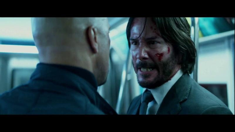John Wick vs Cassian - Second Fight Scene - John Wick: Chapter 2 Full HD 12K Bitrate