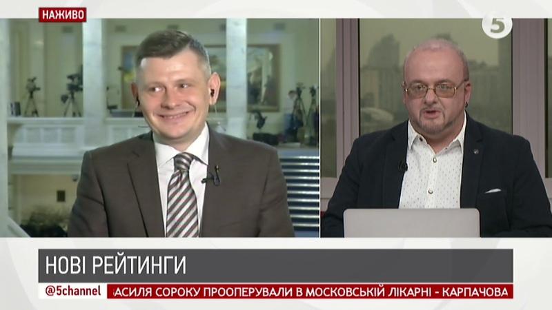 Нові рейтинги: кандидати помінялися місцями | Олександр Антонюк | ІнфоДень - 19.03.2019