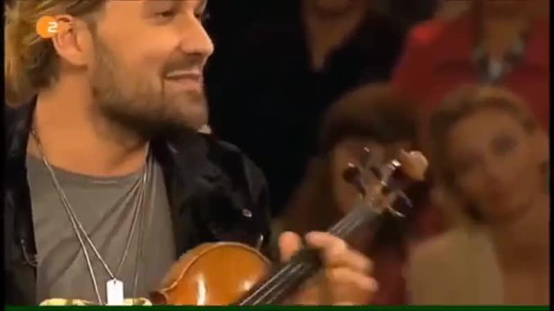 DG-Mm Eternal love - violinist Gavid Garrett and his diva Stradi