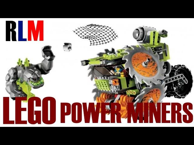 LEGO POWER MINERS 8963 КАМНЕДРОБИЛКА РЕДКИЙ НАБОР ЛЕГО