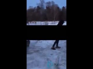 Охранники парковки ЖК выгнали голых проституток на мороз  Люберцы