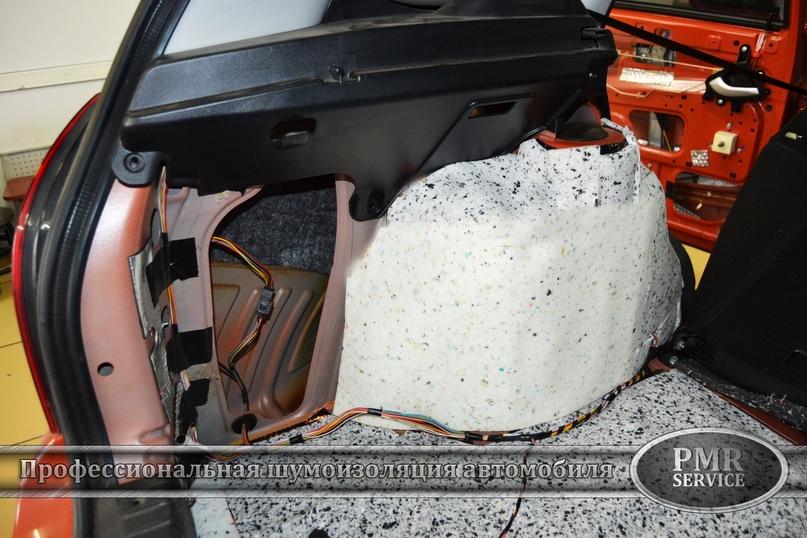Комплексная шумоизоляция Lada Kalina Cross, изображение №12