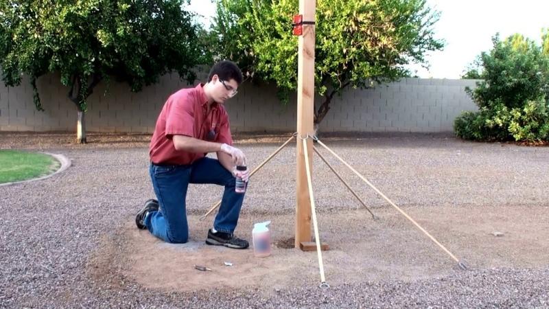 Хотите установить несколько столбов без заморочек HILST Standart поможет