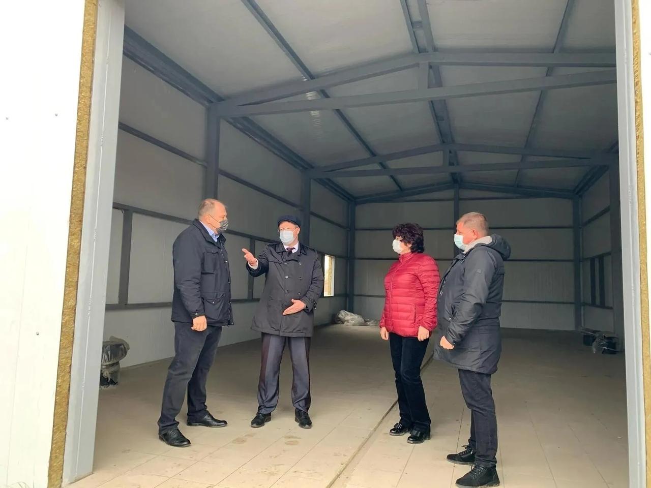 Строительство станции обезжелезивания в Петровске проконтролировал заместитель регионального министра строительства и ЖКХ Александр Мышев