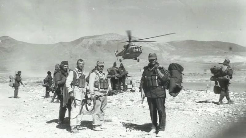 Валерий Бессарабский Радисты бригады спецназ
