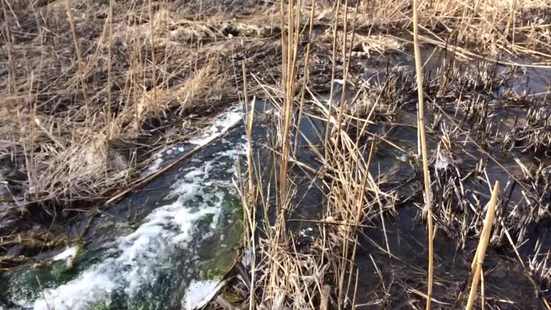 Водопад в Донецке 30 марта 2020г