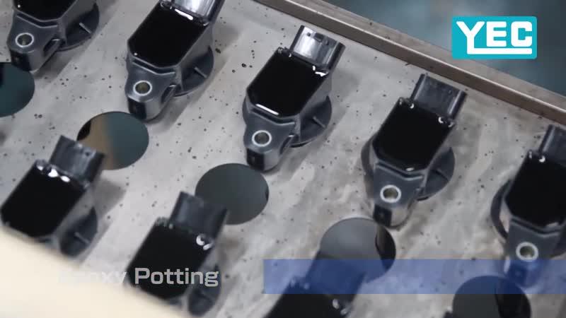 Как изготавливают катушки зажигания YEC Япония