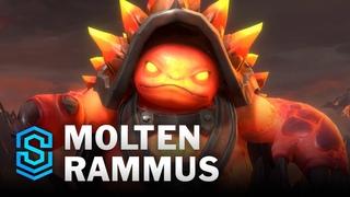Molten Rammus Wild Rift Skin Spotlight