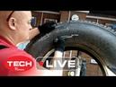 Ремонтируем БОКОВОЕ повреждение грузовой шины MICHELIN, используя кевларовый пластырь ТЕСН - часть 1