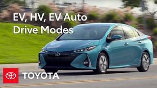 Toyota How-To: 2017 Prius Prime – EV, HV, EV Auto Drive Modes | Toyota