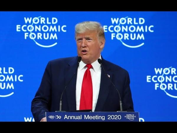 À Davos Trump fustige les prophètes de malheur sur le climat
