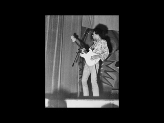 Jimi Hendrix- Teatro Brancaccio, Rome, Italy 5/25/68