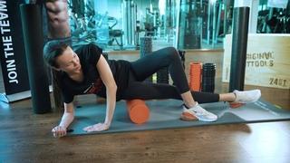 Цилиндры для пилатес и массажа Original FitTools обзор + упражнения