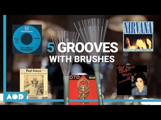 5 Iconic Drum Grooves With BRUSHES | Drum Lesson With Florian Alexandru-Zorn
