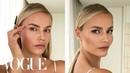 Supermodel Natasha Poly's 3-Step Perfect Cat-Eye | Beauty Secrets | Vogue