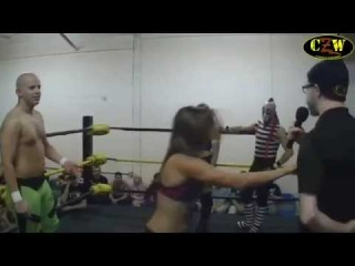 CZW Dojo Wars III: Intergender 8-Person Tag Match featuring Amasis, Kimber Lee and Shanna