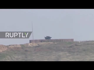 Turkish hawk air defense systems not bordering on syria in hatay province