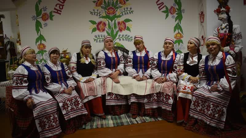 Народный ансамбль белорусской песни Сябры с Балтика Иглинский р н РБ Рушнiкi