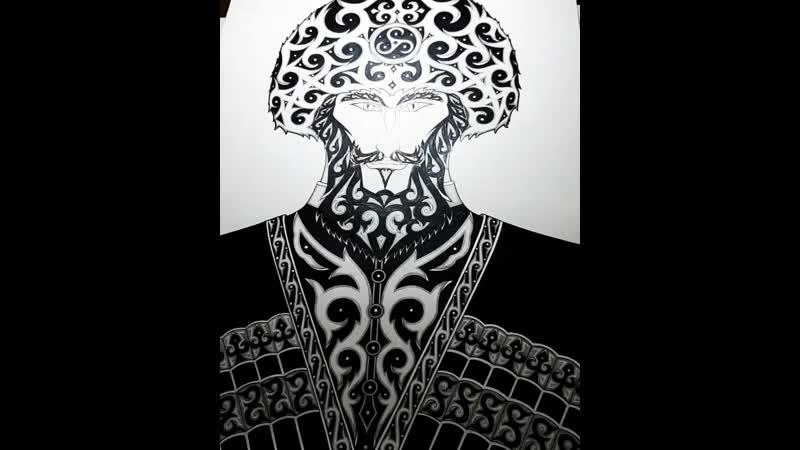 Картина Дух Кавказа Единство народов Кавказа Фрэд Ас Бетанов Цена 16т р Я обещал что мой фонд Аланское наследие будет