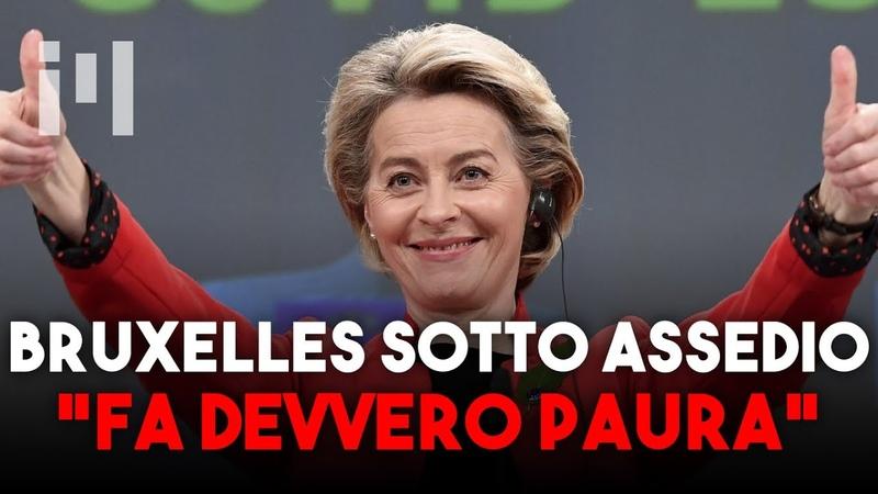 CUORE DELL'UNIONE EUROPEA SOTTO ASSEDIO