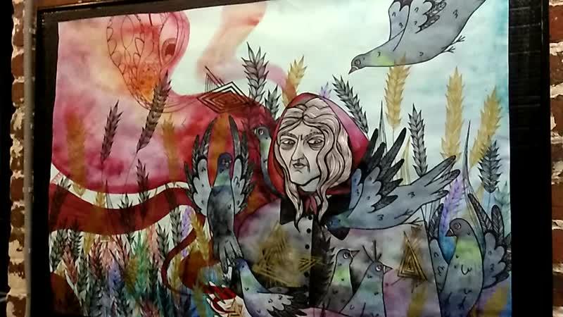 На выставке Жени Шевцовой и Вики Фостер: