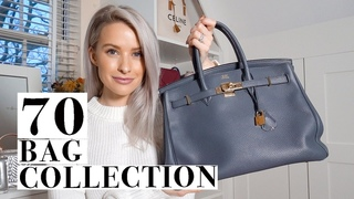 70 OF THE BEST LUXURY HANDBAGS IN MY NEW CLOSET | INTHEFROW