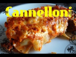CANNELLONI Rezept/ КАННЕЛЛОНИ Рецепт