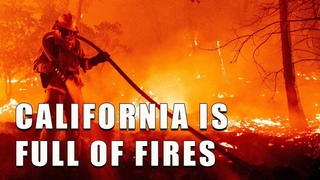 GET OUT FROM CALIFORNIA NOW! CRAZY Wildfires in California, USA (July 16, 2021)