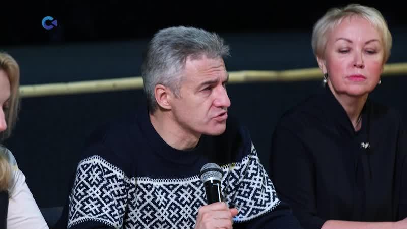 Глава Карелии встретился с жителями Пряжинского района