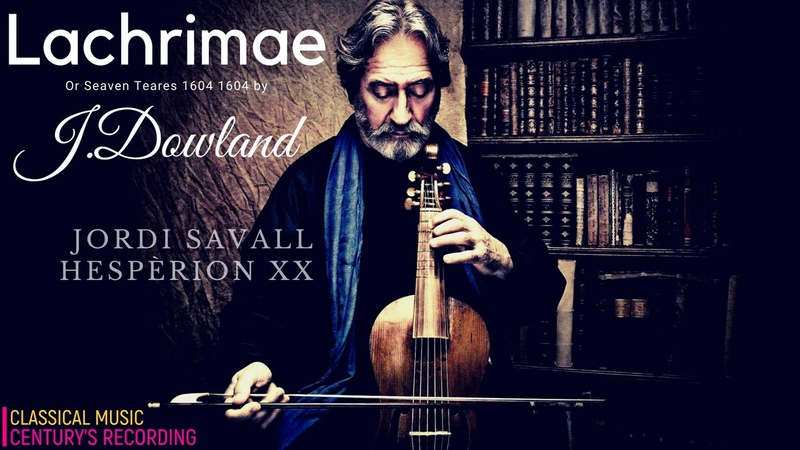 Dowland Lachrimae or Seven Tears 1604 Presentation Century's record Jordi Savall Hespèrion