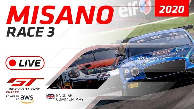 RACE 3 MISANO GTWC EUROPE 2020 ENGLISH