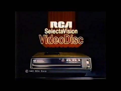 США 2018 Видеоформат CED Виниловый Video Disc от компании RCA