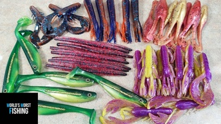 College FOOTBALL Themed Fishing  Team Colored Baits