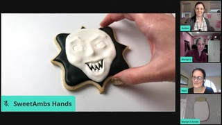Live Creepy Cookie Decorating with Amber, Haniela's & Marlyn