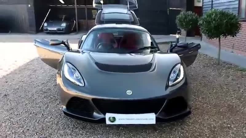 Lotus Exige S 3 5 VVT i Supercharged V6 Manual in Carbon Grey with Venom Red Int