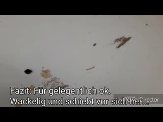 Test des Bosch Easy Vac 12 mit 12V  Akku