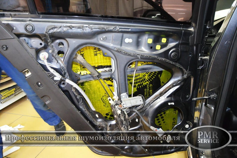 Шумоизоляция Honda Accord, изображение №8