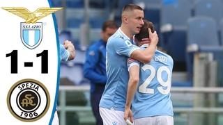 🔥 Лацио - Специя 1-1 - Обзор Матча Чемпионата Италии 03/04/2021 HD 🔥