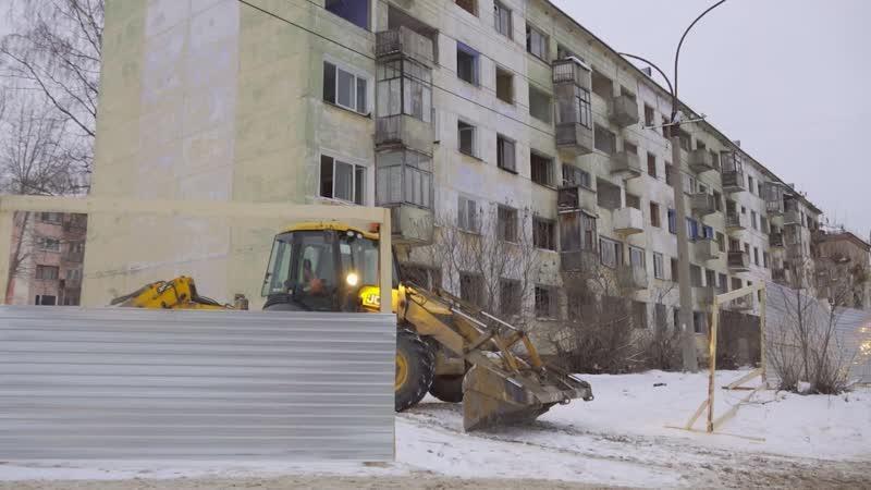 В районе улицы Свердлова в Березниках временно организовали новый пешеходный переход